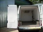 Термоизолация и хладилна система на Форд Транзит за превоз на био храни